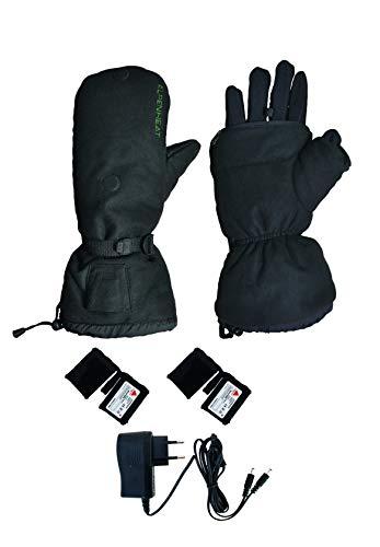 Alpenheat Adulto guante climatizada con interior de guantes, invierno, unisex, color Negro - negro, tamaño XL