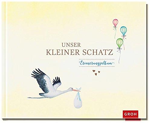 Unser kleiner Schatz: GROH Kreative Eintragbücher
