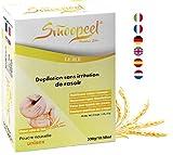 Smoopeel Depilación en polvo sin afeitar 300 G, forma natural de depilación Unisex para todas las...