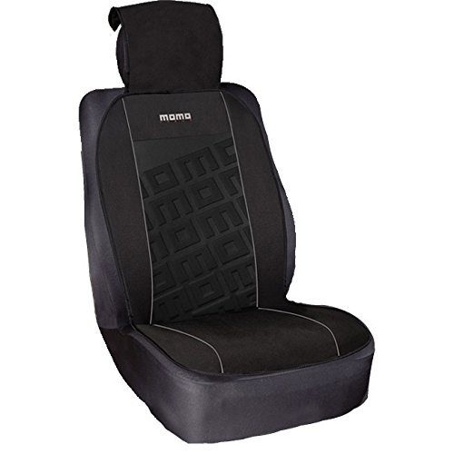 Momo SCU008BG schienale sedile, Nero/Rosso