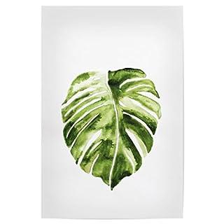 artboxONE Poster 30x20 cm Natur Monstera Leaf hochwertiger Design Kunstdruck - Bild Natur von Elisa Peth