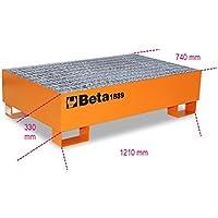 Beta 018890200-1889-Base En Acero Para 2 Barriles 200 L