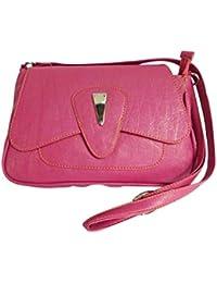 Adiari Fashion Pink Colored Traditional Handbag for women