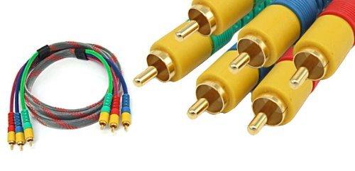 DealMux 3 RCA RGB-Mann zum männlichen M / M Component Video-Kabel für HDTV DVD Component-video-kabel Hdtv Dvd