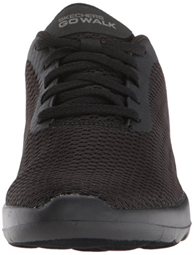 Skechers Go Walk Joy-Paradise, Sneaker Donna Nero (Black)
