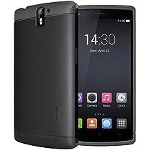 OnePlus One Funda, TUDIA ultra delgado LITE TPU caso de parachoques de protección Funda Carcasas para OnePlus One (Negro)
