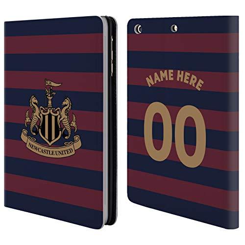 Head Case Designs Personalisierte Individuelle Newcastle United FC NUFC Away Kit 2018/19 Crest Brieftasche Handyhülle aus Leder für iPad Mini 1 / Mini 2 / Mini 3 -