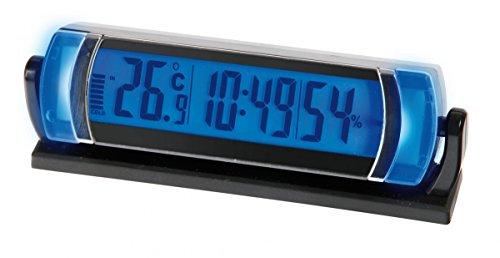 Preisvergleich Produktbild Lampa 86328. SEYIO hc-100Uhr mit Thermometer und Hygrometer