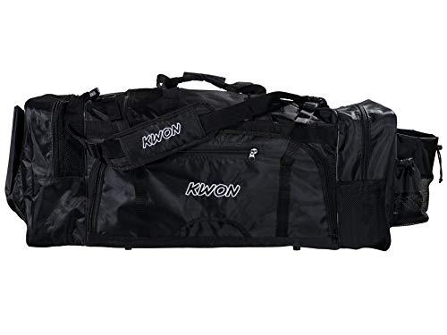 Kwon Tasche Evolution schwarz Sporttasche groß Large L Kickboxen Kick-Thaiboxing Tasche, Trainingstasche, Taschen Bag, schwarz, Trainingstaschen Sporttaschen