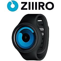 Ziiiro Gravity Unisex Silikon / Edelstahl Watch Black - Ocean wechselbare Uhr