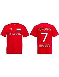 Ungarn Trikot mit Wunschname und Wunschnummer EM 2016