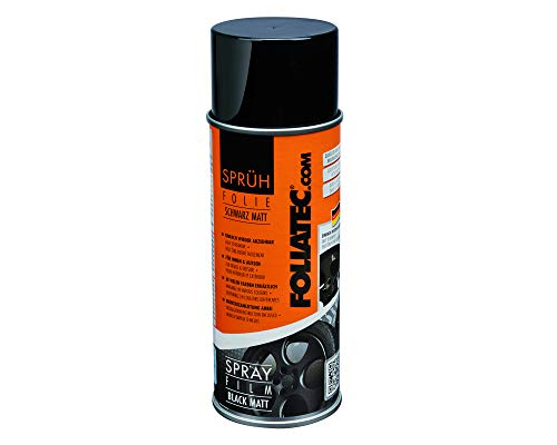 Foliatec Dose, schwarz matt, 1er Set (1 x 400 ml)