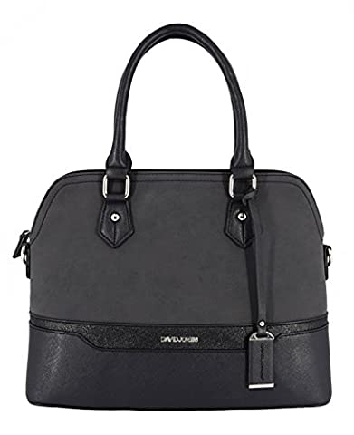 David Jones - Damen Handtasche - Bugatti Tasche - Nubuk Paillette Saffiano Leder - Frau Tasche -