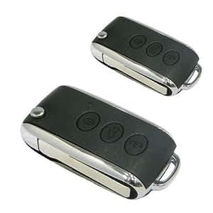 100F86 - Keyless Entry System Système de verrouillage centralisé à distance pour voiture auto, clé flip pliage