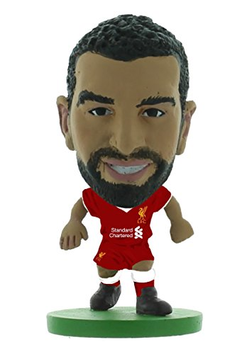 SoccerStarz soc1163 – Liverpool Mohammed Salah Home Kit (2018 Version)/Figuren