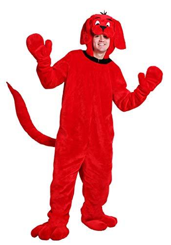 Kostüm Clifford - Clifford the Big Red Dog Plus Size Adult Fancy dress costume 2X