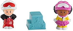 Fisher Price - Tubo Figuras Little People, podio (Mattel R9829)