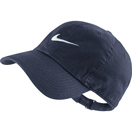 Winter Männer Nike Mütze (Nike Kappe Swoosh H86, obsidian/White, One Size, 546126-454)