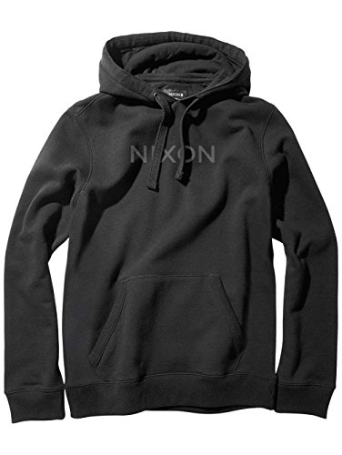 NIXON Neptune Pullover Hoodie Fall Winter 16-17 Black