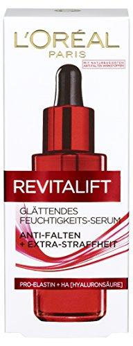 L'Oréal Paris RevitaLift Glättendes Feuchtigkeits-Serum Anti-Falten, 1er Pack (1 x 30 ml) (Anti-falten-serum)