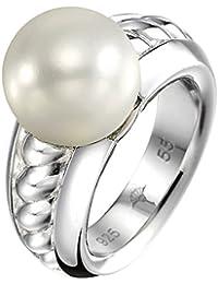Joop Damen-Ring 925 Sterling Silber rhodiniert Perlmutt Natalie