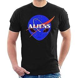 Camiseta Nasa Aliens. La viste Iker Jiménez en Milenio Live Programa 32