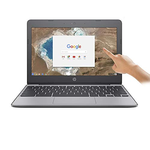 "HP Chromebook 11 G5 (1KA12ES#ABU) - 11.6"" Laptop Intel Celeron N3060 1.6 GHz / 2.48 GHz Turbo Processor, 4GB RAM, 16GB eMMC, HD Display, HDMI, USB 3.1, Chrome OS"