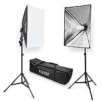 ESDDI 800W Studio Lights Photography Lighting Kit Soft Boxes Continuous Lighting 20