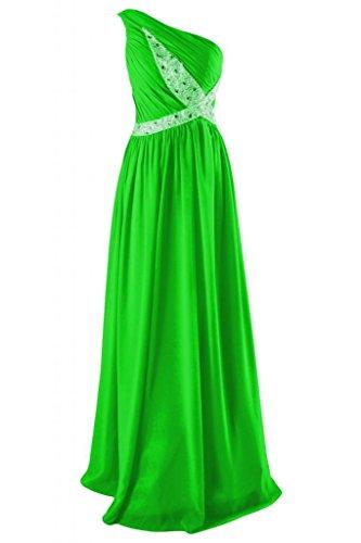 Sunvary romantico a tracolla, taglia unica Plus da Sera Sera-Gowns Pageant Evening Dresses Verde