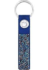 Idea Regalo - Swarovski 5352913 - Portachiavi, Colore Blu