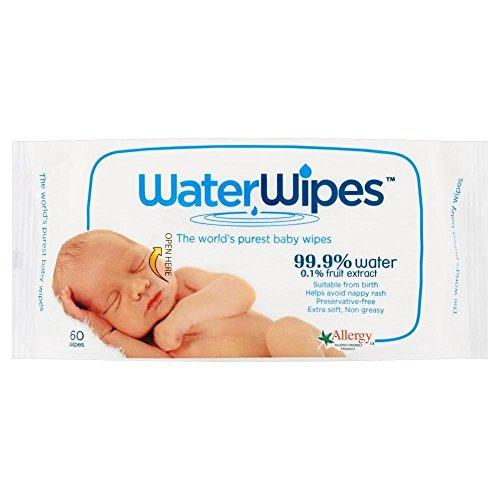 Preisvergleich Produktbild WaterWipes Reine Baby-Wischtücher (60) - Packung mit 2
