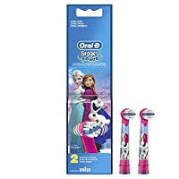 Oral-B Stages Çocuklar İçin Diş Fırçası Yedek Başlığı, Frozen, 2 Adet
