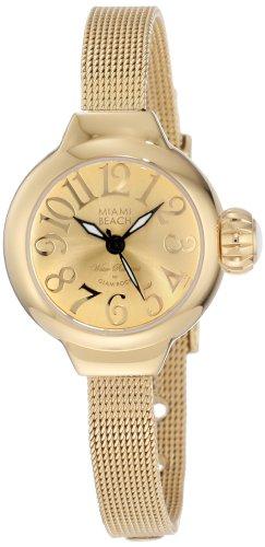 Glam Rock MBD27146 - Reloj de Pulsera Mujer, Color Oro