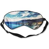 Sleep Eye Mask Sea Beach Lightweight Soft Blindfold Adjustable Head Strap Eyeshade Travel Eyepatch E7 preisvergleich bei billige-tabletten.eu