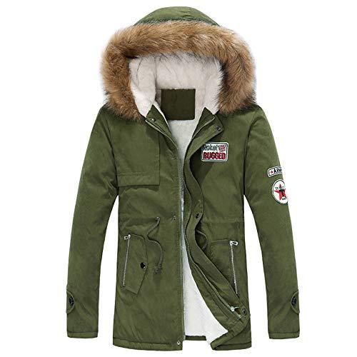 Btruely Oberbekleidung Damen Groß Größe Freizeitjacke Frauen Outwear Vintage Parka Mantel Herbst Winterjacken Pocket Fur Paar Mantel