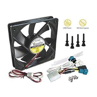 Acousti AcoustiFan DustPROOF 80 x 80 x 25mm 1600 RPM Case Fan : AFDP-8025B