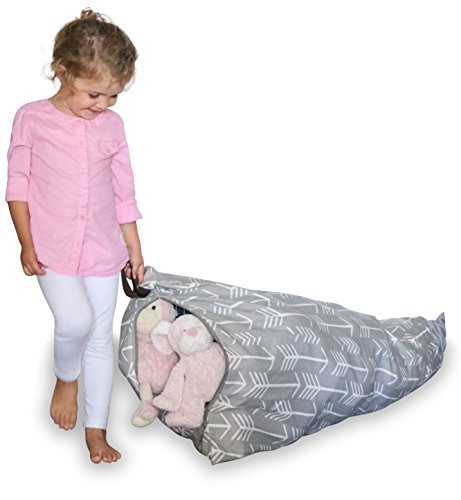 MiniOwls Spielzeug Aufbewahrung Sitzsack–Cover–Passend für...