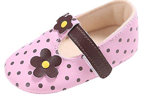 EOZY Weiche Warme Sohle Babyschuhe Kleinkind Schuhe Taufschuhe Pink
