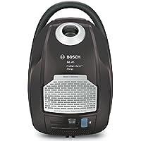 Bosch BGL45500 ProPer>>formPlus - Aspirador con bolsa AAAA, 700 W, filtro HEPA H13 lavable (recomendado para alérgicos), sistema PowerProtect, color gris plomo y plata
