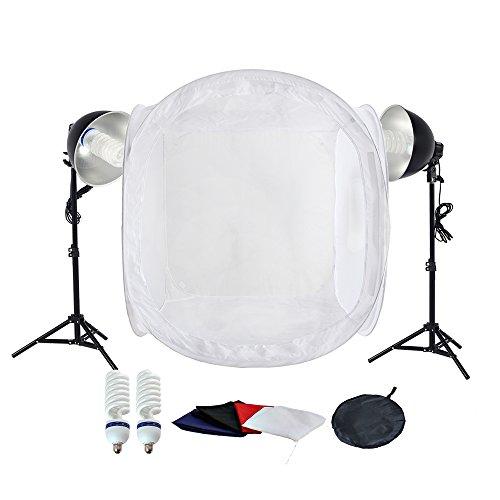 PMS estudio fotografía 2x 5500K Lámparas luz diurna
