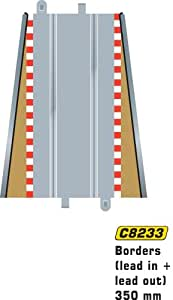 Scalextric C8233 Lead In Lead Out Border Barrier 1:32 Scale Accessory
