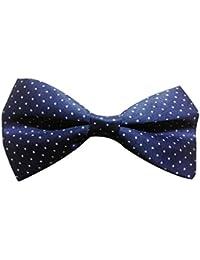 Red Eye Polka Print bow tie