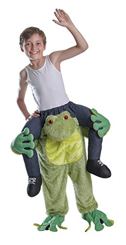 Piggy Back - Frog - Bambini Costume - Unica