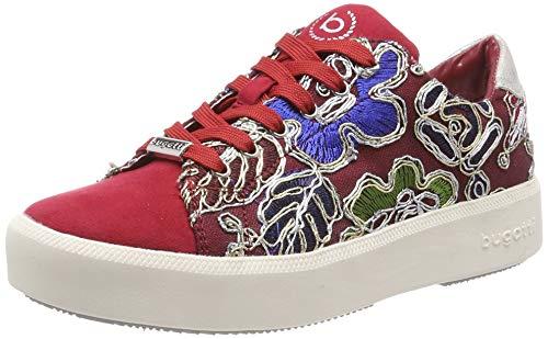 bugatti Damen 431407056469 Sneaker, Mehrfarbig (Red/Multicolour 3081), 39 EU