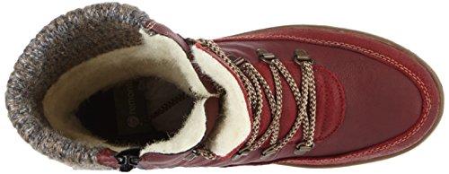 Remonte R4371, Stivali da Neve Donna Rosso (Mohn/vino/mogano/graphit)