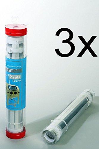 Preisvergleich Produktbild Pro-Lift-Montagetechnik Ersatzfolien für 350/420L Sandstrahlkabine, 3 Verkaufseinheiten bestehen aus 6 Sets, SB42PESJ, 02145