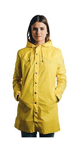Beseason - Raincoat - Parka - Waterproof - Water-repellent - Manteau imperméable Femme Yellow Wax