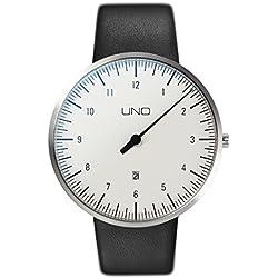 UNO+ MenÕs Watch by Botta-Design, Leather Strap, 711010