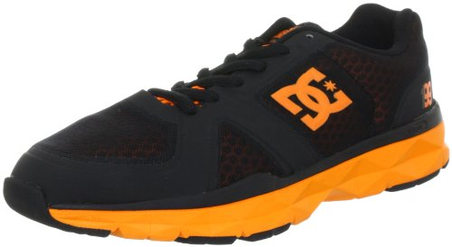 DC Shoes UNILITE TRAINER TP D0320099 Herren Sportschuhe Schwarz (BLACK/ORANGE BO1D)