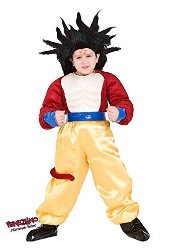 Costume di carnevale da dragon gt vestito per ragazzo bambino 7-10 anni travestimento veneziano halloween cosplay festa party 8115 taglia 7/s